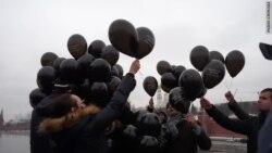 Черные шары над Кремлем
