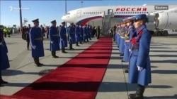 Vizita e presidentit rus në Serbi