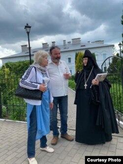 Сяргей Тарасаў у Полацку