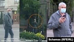 21 травня, коли редакційне авто стояло на вул. Шовковичній, журналісти зауважили, як повз авто пройшов чоловік, перейшов через дорогу, зайшов за дерево, намагаючись сфотографувати, потім підійшов ближче, зробивши ще один знімок – і пішов у двір