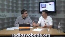 Сергій Одарич в студії Радіо Свобода