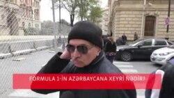 Formula 1-in Azərbaycana faydası nədir? [Bakıda sorğu]