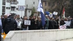У Сараєві протестують металурги