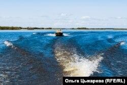 Високите води на езерото Гаси