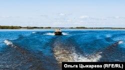 Большая вода на озере Гасси