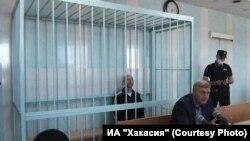 Сергей Новиков в зале суда