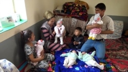 'Not Enough Mother's Milk': The Struggling Parents Of Tajikistan's First Quintuplets