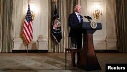 Президент США Джо Байден в Белом доме.