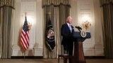 Presidenti i Shteteve të Bashkuara, Joe Biden, në Shtëpinë e Bardhë.