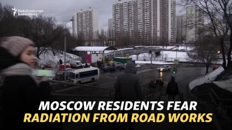 Moscow Residents Fear Radiation From Roadworks