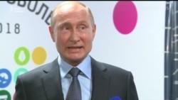 Путін: Я не хочу брати участі у виборчій кампанії Порошенка (відео)