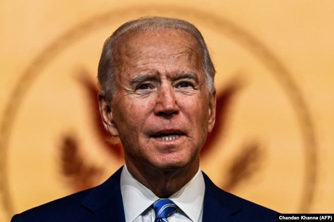 """U.S. President-elect Joe Biden has said he is open to resurrecting the nuclear deal with Iran and lifting sanctions if Tehran returns to """"strict compliance."""""""