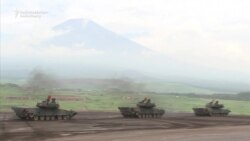 Japanese Military Stages Drills Beneath Mt. Fuji