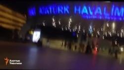 В районе международного аэропорта Ататюрка в Стамбуле замечены несколько танков