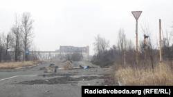 Донецк, местность рядом с аэропортом города.