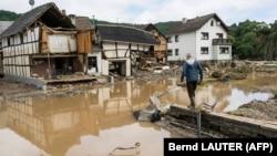 Ջրհեղեղը Գերմանիայում, 15-ը հուլիսի, 2021թ․