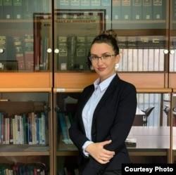 Теа Мицевска, студентска правобранителка на УКИМ 2020 - 2022