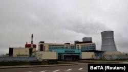 Белоруската нуклеарна централа.