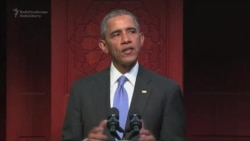Obama Condemns Bigotry During First Visit To U.S. Mosque