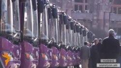 Քաղաքապետարանը որոշ երթուղիների նոր ավտոբուսները փոխարինում է հներով