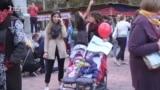 Protest trudnica i porodilja u Beogradu