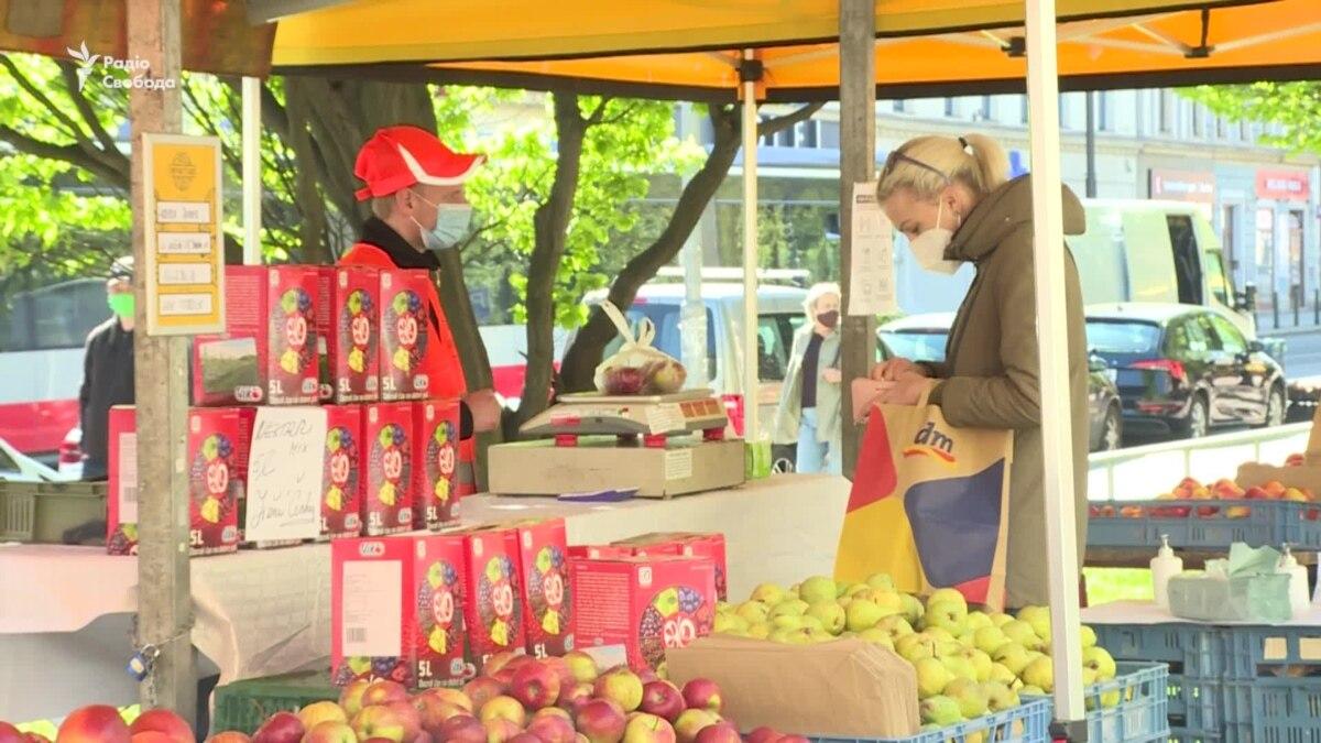 Ослабление карантина: в Праге открылись фермерские рынки – видео