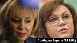 Мая Манолова и Корнелия Нинова