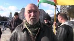 Волонтери і ветерани вшанували пам'ять Аміни Окуєвої