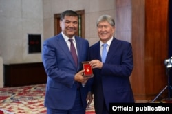 Искендер Матраимов и Алмазбек Атамбаев.