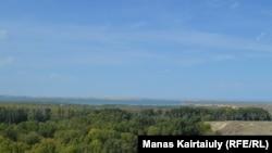 Күршім өзенінің Бұқтырмаға құятын тұсы. Шығыс Қазақстан облысы, 3 қыркүйек 2020 жыл.