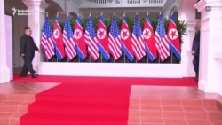 Trump, Kim Meet At Historic Summit