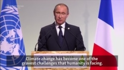Putin Calls For Binding Emissions Targets