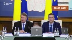 2017 versus 2018. Klaus Iohannis la Guvern, în problema amnistiei și grațierii