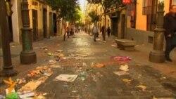 В Іспанії проти скорочення мітингують двірники