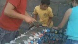 Պլաստիկե թափոնները կյանք են ստանում երեխաների ձեռքերով
