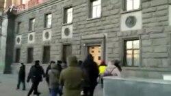 Видео задержания Павла Степанченко в Москве (видео)