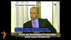 W.Putiniň 2008-nji ýylda Krym barada çykyşy