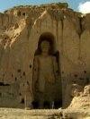 Afghanistan - Buddha statue in Bamiyan valley - screen grab - AP