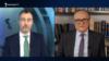 Специальный представитель ЕС по вопросам Южного Кавказа и кризиса в Грузии Тойво Клаар (слева) дает интервью директору Радио Азатутюн Грайру Тамразяну, 23 февраля 2021 г.