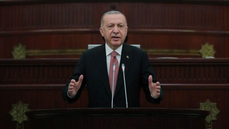 Erdoğan Azərbaycanda Türkiyə hərbi bazası haqda