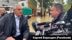 Сергей Аксенов в Керчи, 17 июня 2021 года