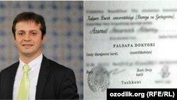 Ozodlik joriy yilning 11 martida diplomi qalbaki bo'lib chiqqan sobiq prorektor ustidan jinoyat ishi ochilgani haqida yozgan