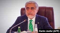عبدالله عبدالله رئیس شورای عالی مصالحه ملی افغانستان