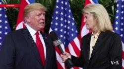 """""""В наших отношениях хорошая химия"""". Трамп рассказал о встрече с Кимом"""