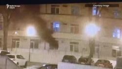 Exclusiv: Primele secunde ale incendiului de la Matei Balș