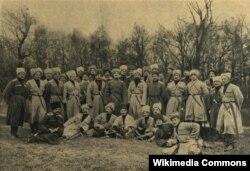Чеченский конный полк, 1914 г.