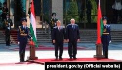 Сустрэча Лукашэнкі і Орбана 5 чэрвеня 2020 году ў Менску