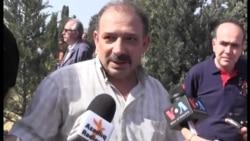 Арестованный МНБ журналист Рауф Миркадыров участвовал в похоронах отца