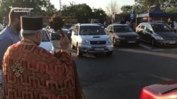 Serbian Orthodox Protesters Drive Toward Montenegro's Border