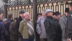 Орусиядагы шайлоо: Бишкекте добуш берчүлөрдүн кезеги узун